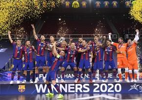 Barselona Çempionlar Liqasının qalibi oldu