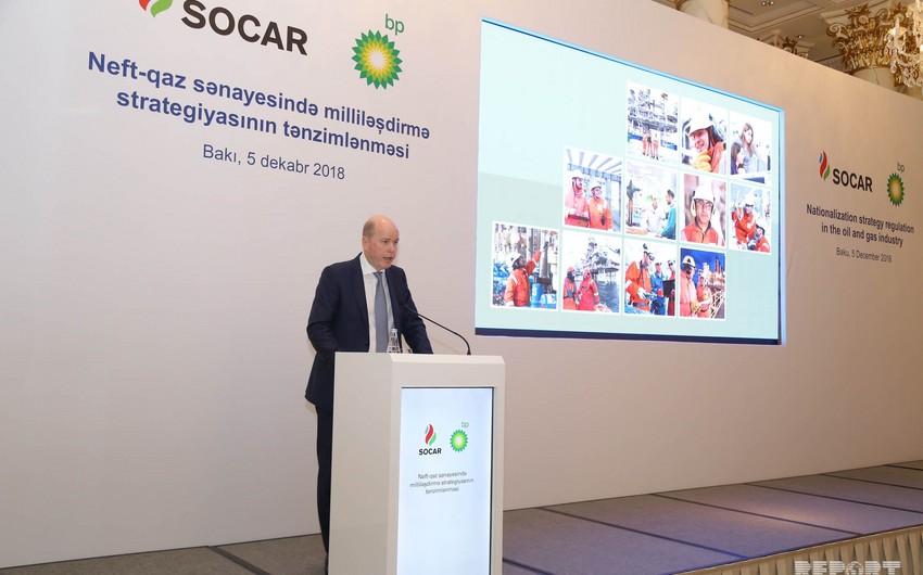 Azərbaycanda BP-nin yerli yüksək vəzifəli işilərinin sayı 62%-ə yüksəlib