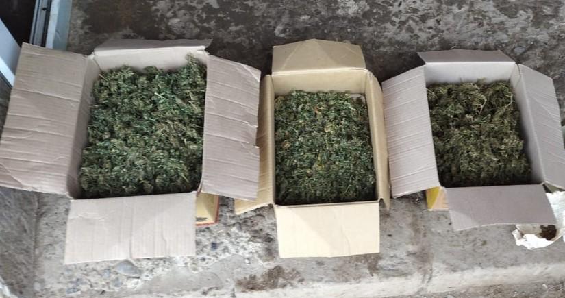 Sabirabad sakinindən 3 kq-dan artıq narkotik götürüldü