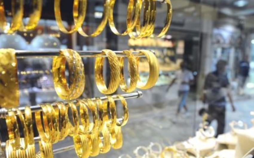 Dünya qızıl bazarında bahalaşma davam edir