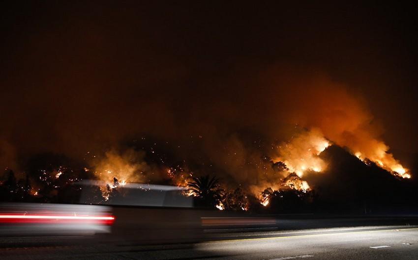 Kaliforniyada meşə yanğınları nəticəsində ölənlərin sayı 6-ya çatıb