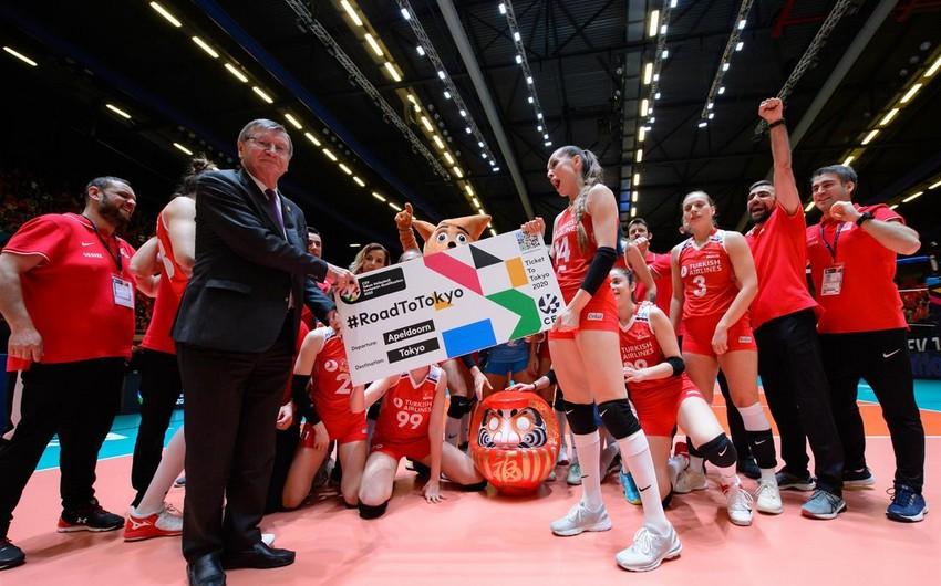 Türkiyə voleybol millisi Tokio olimpiadasına vəsiqə qazanıb
