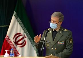 İranın müdafiə naziri: Raket potesialımızı artırmaqda davam edəcəyik