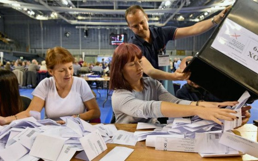 UK Prime Minister's party wins elections