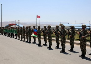 Azerbaijani-Turkish Joint Exercises: First stage begins