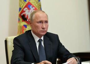 """Putin: """"Qarabağla bağlı üçtərəfli bəyanat ardıcıl həyata keçirilir"""""""