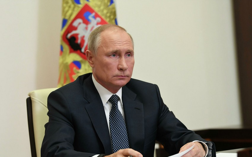 Putin Rusiya Təhlükəsizlik Şurası ilə Qarabağdakı sülhməramlıların işini müzakirə edib