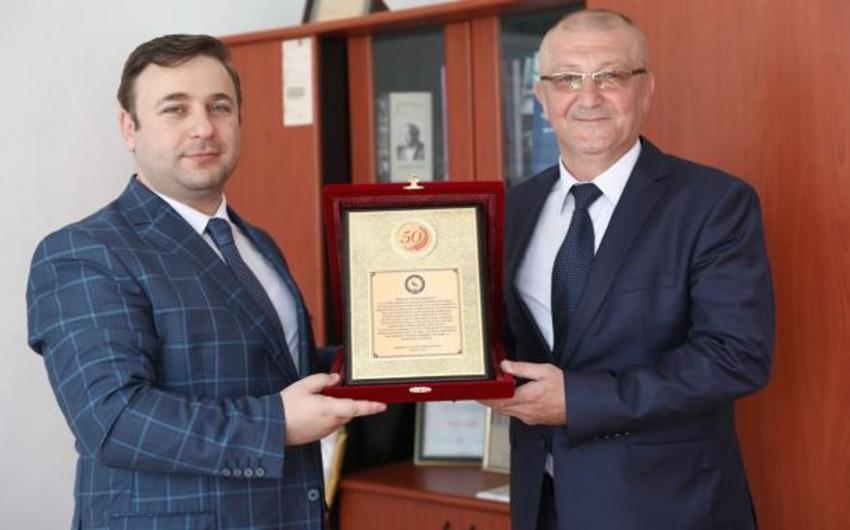 Azərbaycan Cüdo Federasiyası Nazim Hüseynovu təbrik edib