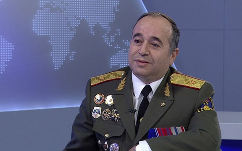 Ermənistan müdafiə nazirinin birinci müavini Rusiyada səfərdədir