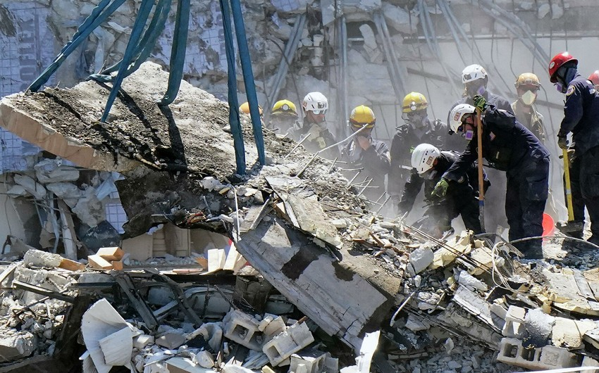 Çində hotelin çökməsi səbəbindən ölənlərin sayı 17-yə çatıb