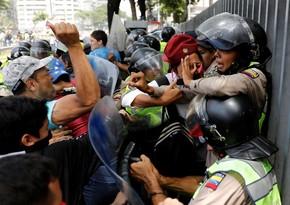 Kolumbiyada 58 nəfər etirazların qurbanı olub