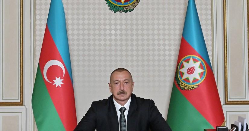 Azərbaycanın Rus İcmasıPrezident İlham Əliyevə məktub ünvanlayıb