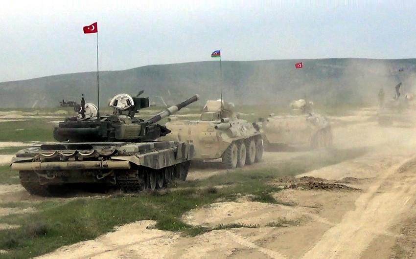 Azərbaycan-Türkiyə birgə döyüş atışlı taktiki təlimləri başlayıb - FOTO - VİDEO - YENİLƏNİB