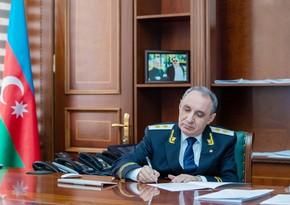 Baş prokuror Qarabağda döyüşən terrorçularla bağlı BMT komissarına müraciət edib