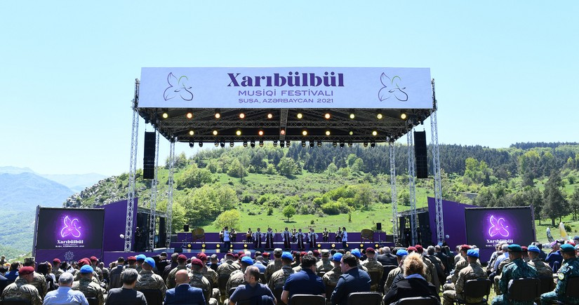 Сегодня фестиваль Хары бюльбюль продолжится гала-концертом