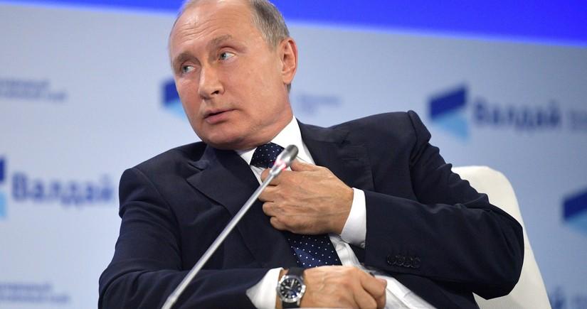 """Putin: """"İlham Əliyev Qarabağ məsələsində müdriklik nümayiş etdirdi"""""""