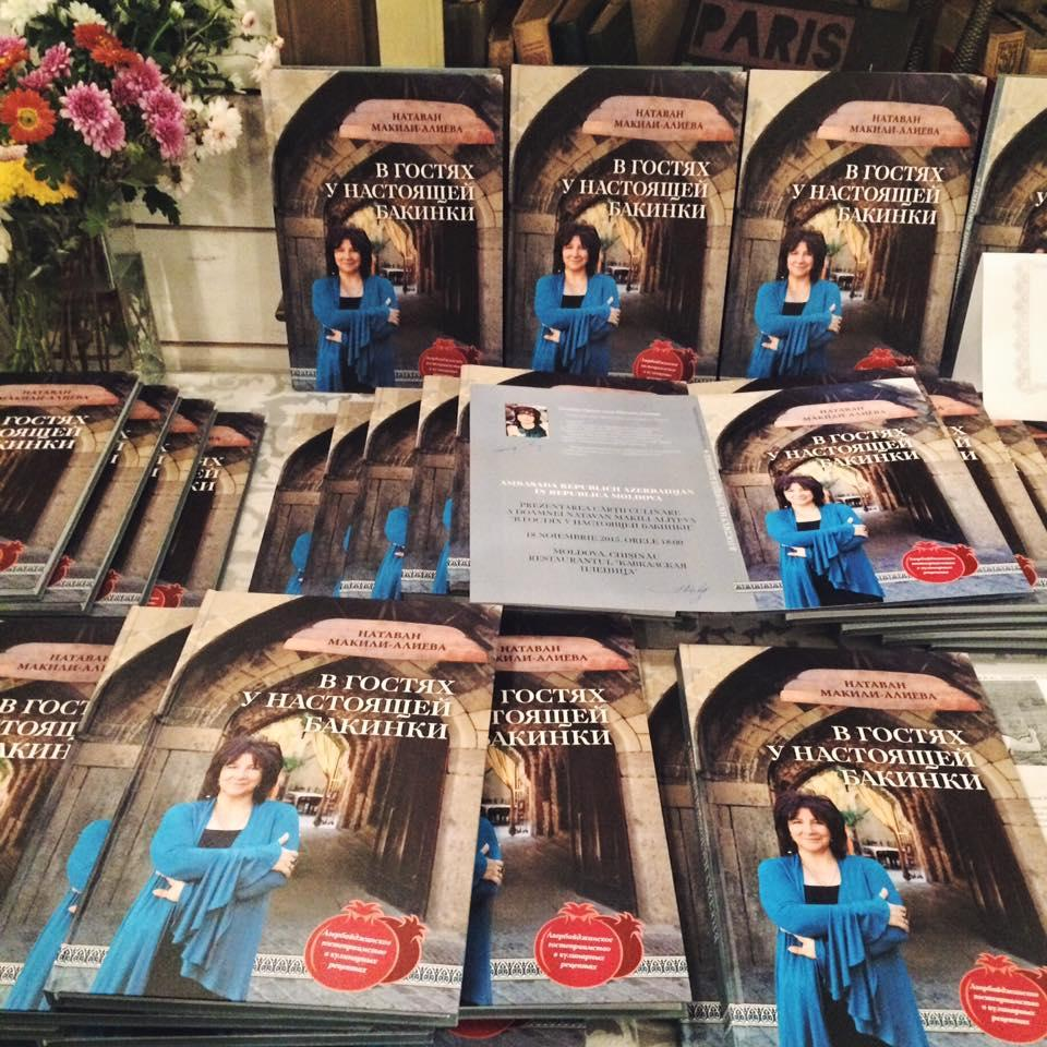 Book about Azerbaijani cuisine published in Moldova
