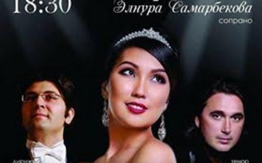 Qırğızıstanda Diva dell Opera beynəlxalq opera layihəsi həyata keçirilib