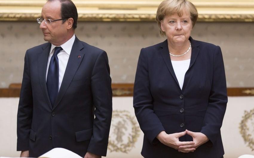 Меркель и Олланд прибыли в Москву