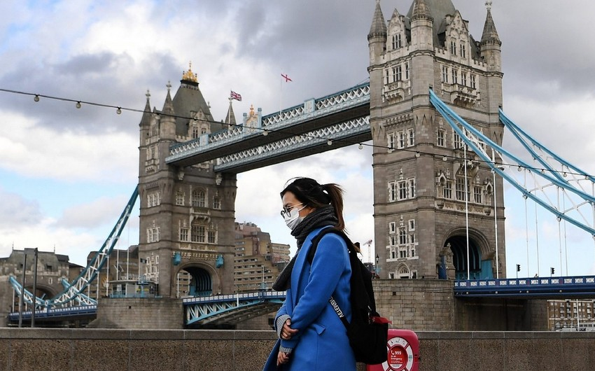 Britaniyada koronavirusa rekord yoluxma