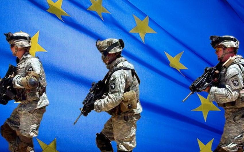 Avropa Parlamenti vahid Avropa ordusunun yaradılması üzrə qətnaməni təsdiq edib