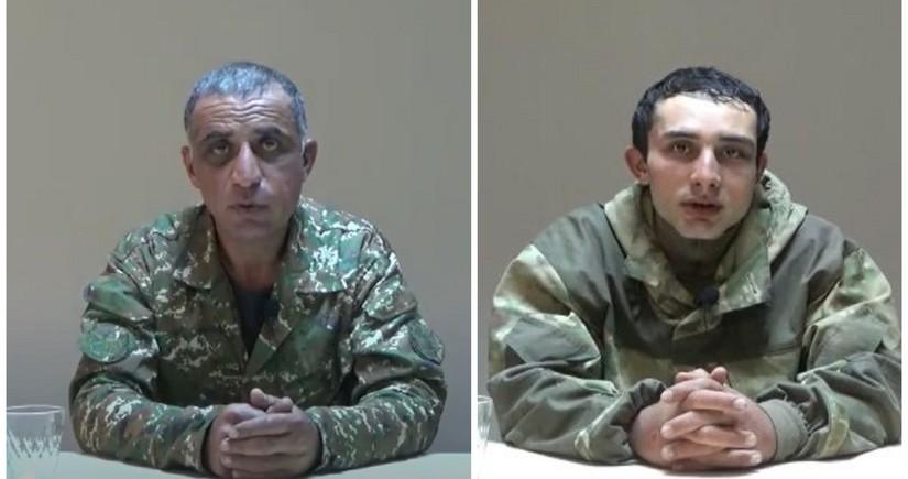 Erməni hərbi əsirlər danışır: Qaçdım, mənə 8 nəfər qoşuldu