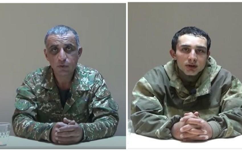Erməni hərbi əsirlər danışır: -