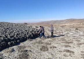 Nazirlikdən vulkanla bağlı açıqlama: çatların uzunluğu 150 metrə çatırdı