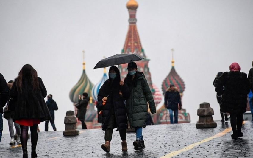 Rusiyada koronavirusa yoluxanların sayı 62 mini ötdü