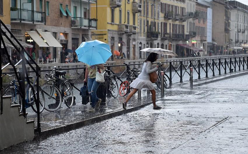 İtaliyada pis hava şəraiti səbəbindən ölənlərin sayı 7 nəfərə çatıb