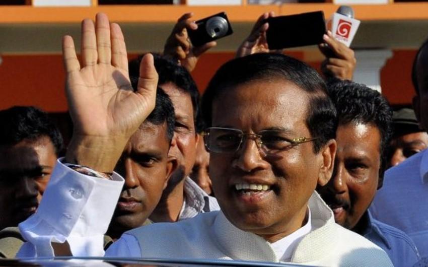 Şri-Lanka yeni prezident seçib