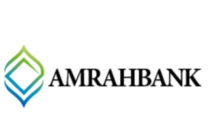 """""""Amrahbank"""" ən sürətli inkişaf edən bank seçilib"""