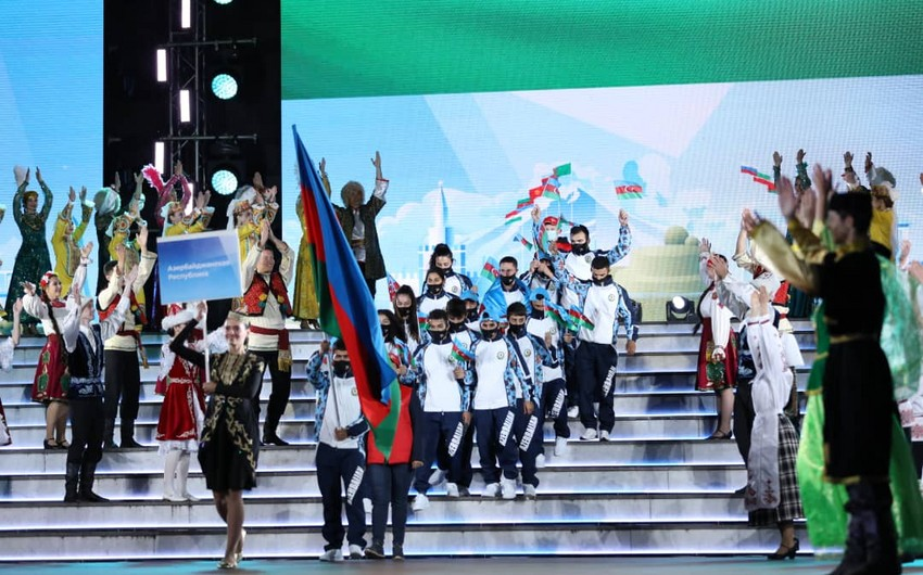 MDB Oyunları: Azərbaycan 60 medalla 4-cü yeri tutub