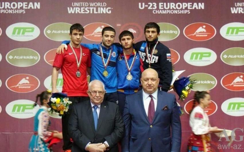 Azərbaycan güləşçiləri Avropa çempionatında 13 medal qazanıb