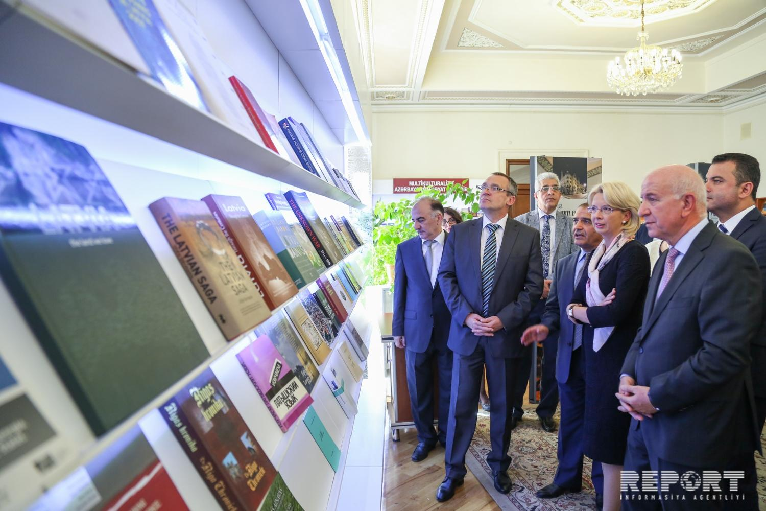 Baku hosts an exhibition 'Latvia today'