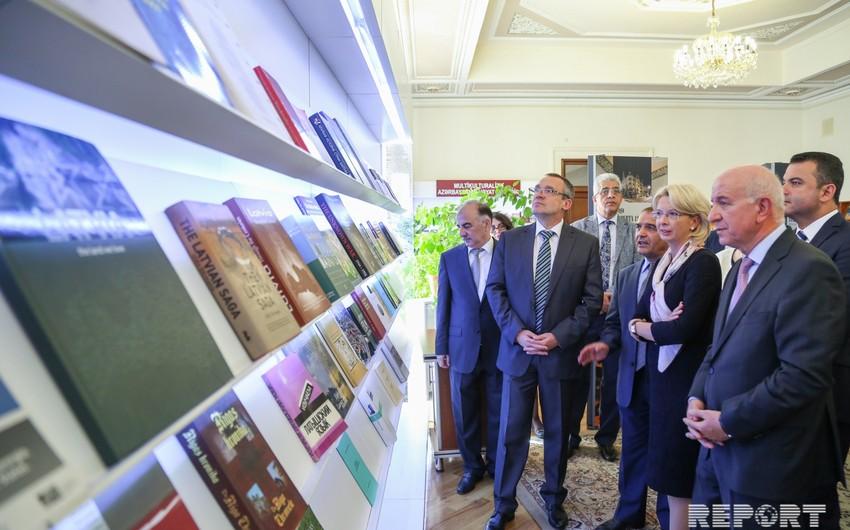 В Баку открылась выставка Латвия сегодня