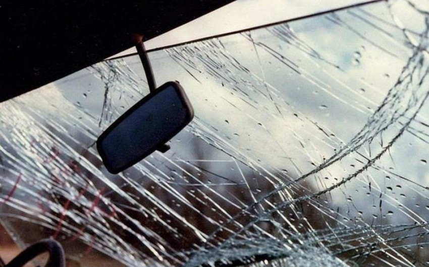 Qazax rayonunda avtomobil qəzası baş verib, yaralananlar var