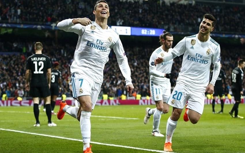 Bu gün Çempionlar Liqasında PSJ və Real Madrid komandaları qarşılaşacaqlar