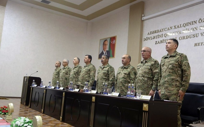 Meeting of Board Session of the Ministry of Defense was held