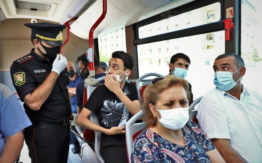 Baku police conduct raids