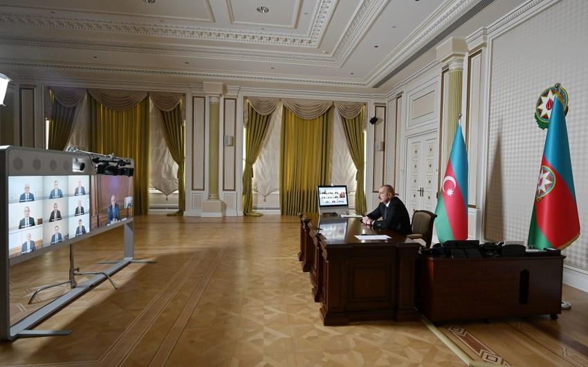 Под председательством президента Ильхама Алиева состоялось заседание Кабмина