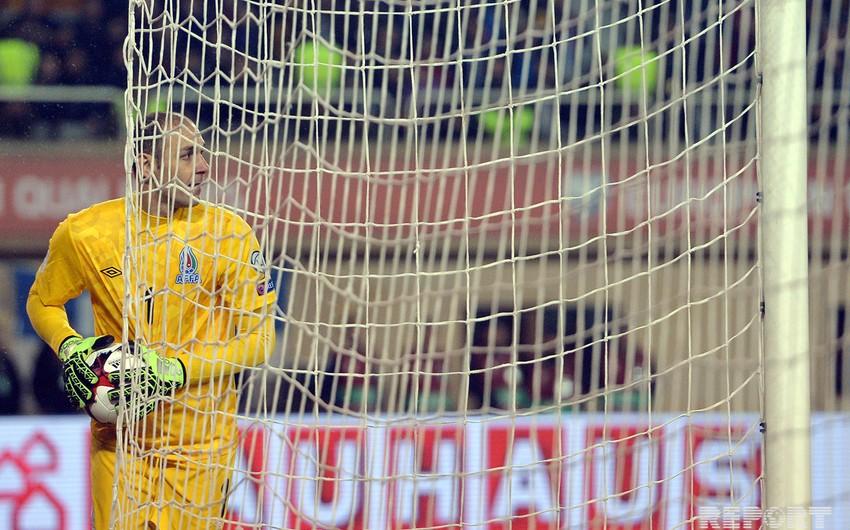 Вратарь сборной Азербайджана Агаев близок к переходу в Амкар