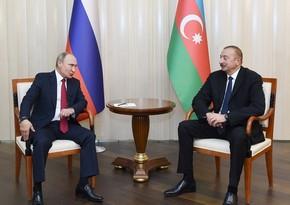 Vladimir Putin İlham Əliyevə zəng edib
