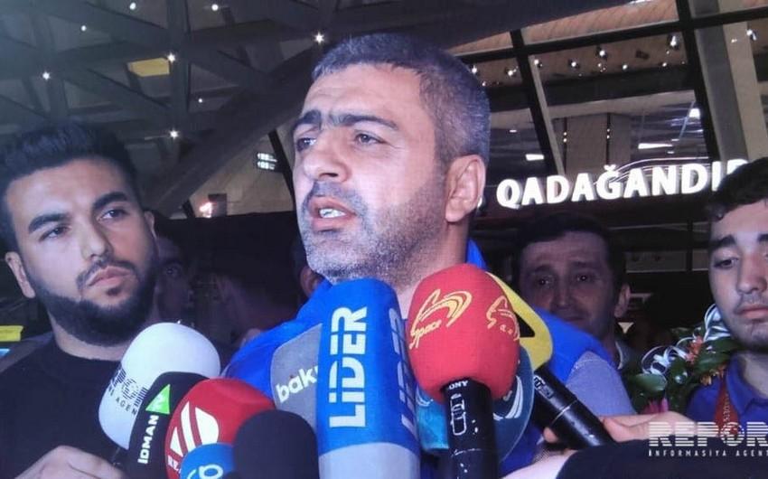 """Ramiz Ramizzadə: """"Komanda hesabında ikinci olmağımız cüdomuzun yüksəlişindən xəbər verir"""""""