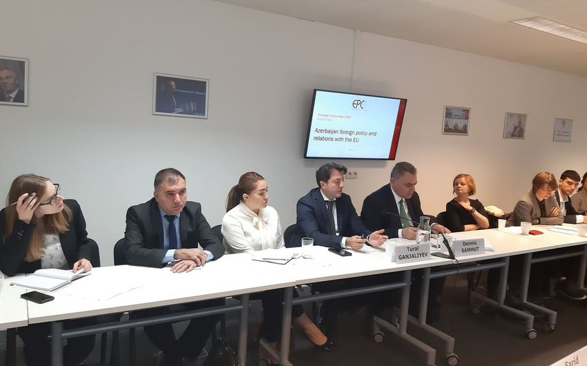 Председатель азербайджанской общины Нагорного Карабаха принял участие в обсуждениях в Брюсселе