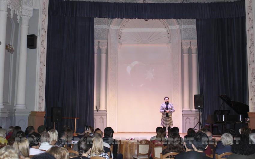 Ukraynada Azərbaycan şəhidlərinin anım gecəsi keçirilib