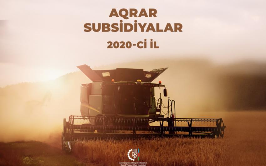 Dövlət fermerlərə 30 mln manat subsidiya ödədi