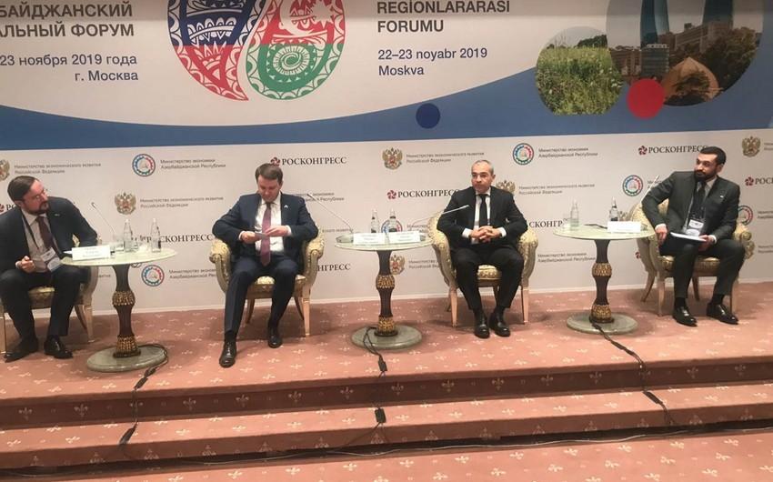 Moskvada 10-cu Rusiya-Azərbaycan Regionlararası Forumu başlayıb