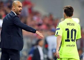 Messi Mançester Sitiyə keçmək üçün Qvardiola ilə danışdı