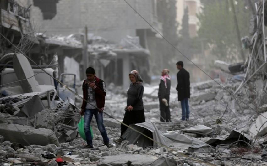 Suriyada terror aktı nəticəsində 16 nəfər yaralanıb